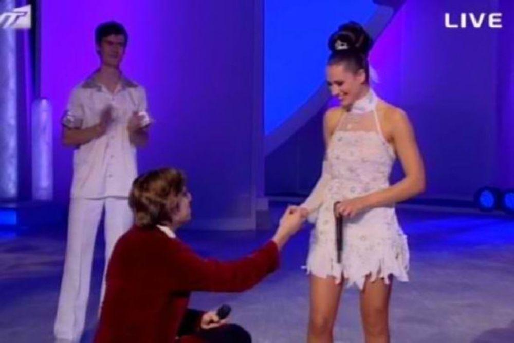 Η πρόταση γάμου του Αλεξέι στη Μαριάννα Καλλέργη on air (video)