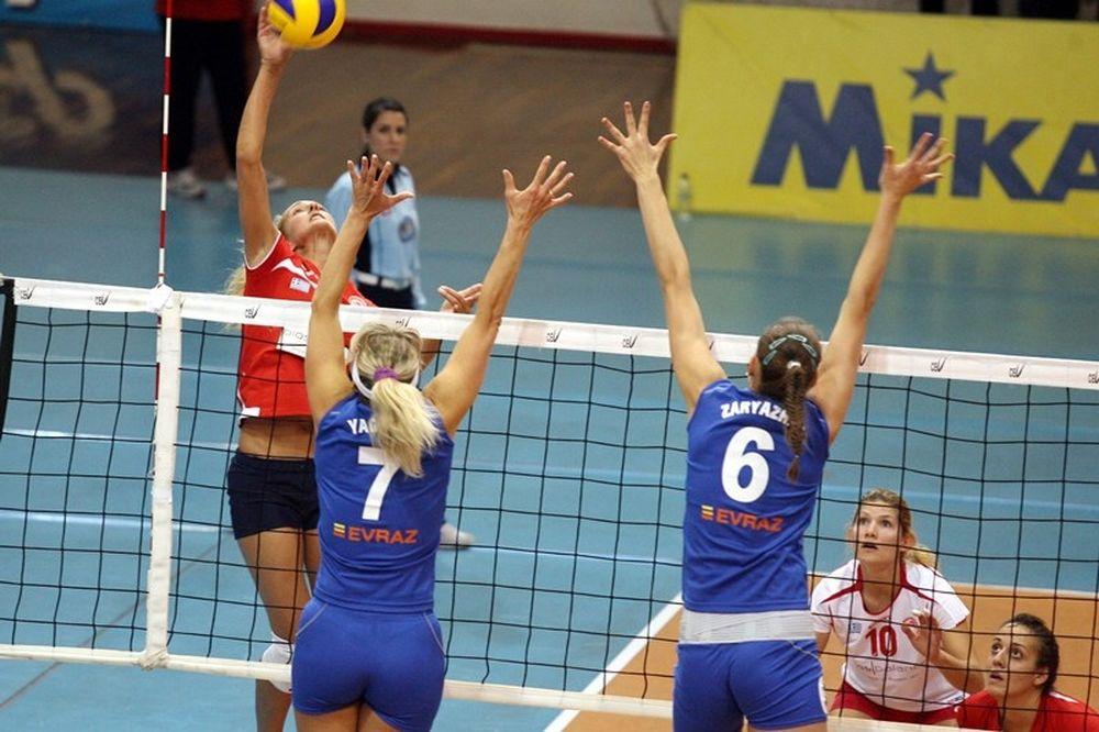 Δεν άντεξε κόντρα στις πανίσχυρες Ρωσίδες ο Ολυμπιακός