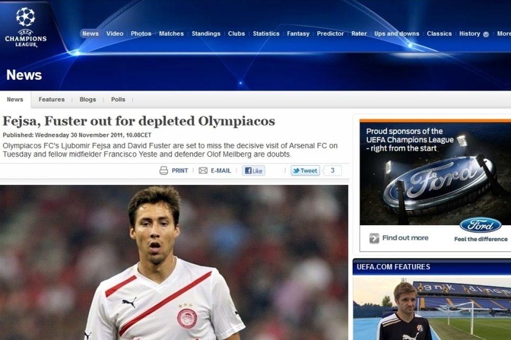 «Βουνό» τα προβλήματα στον Ολυμπιακό»