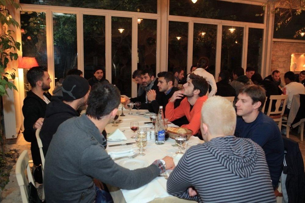 Δείπνο και χορηγία στον ΟΦΗ ο Γ. Πάσσος (photos)