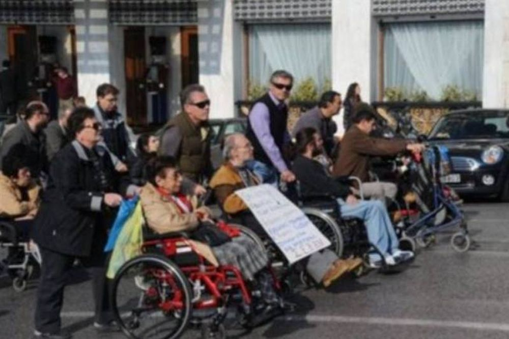 Πορεία των Α.Μ.Ε.Α. στο κέντρο της Αθήνας