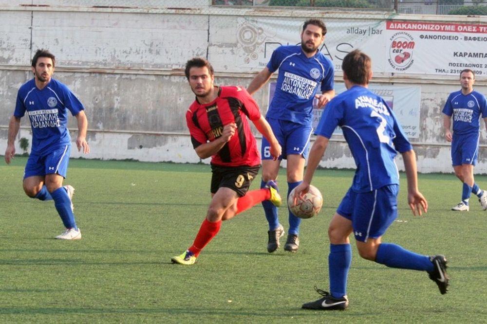 Αχιλλέας Τριανδρίας-Καμπανιακός 0-0