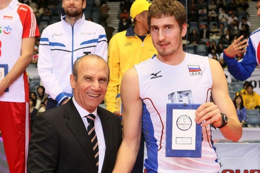 MVP ο Μιχαΐλοφ