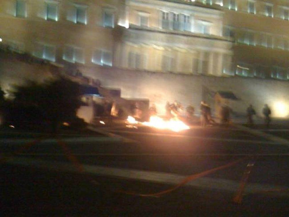 Επεισόδια και νέες συγκρούσεις στο κέντρο της Αθήνας
