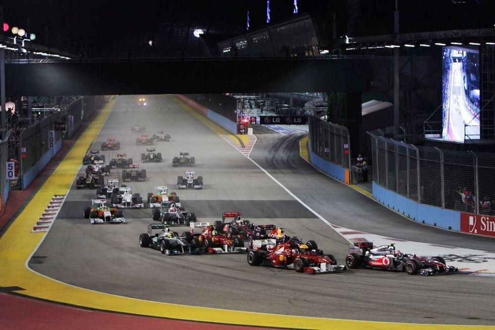 F1: Η τάξη του 2012