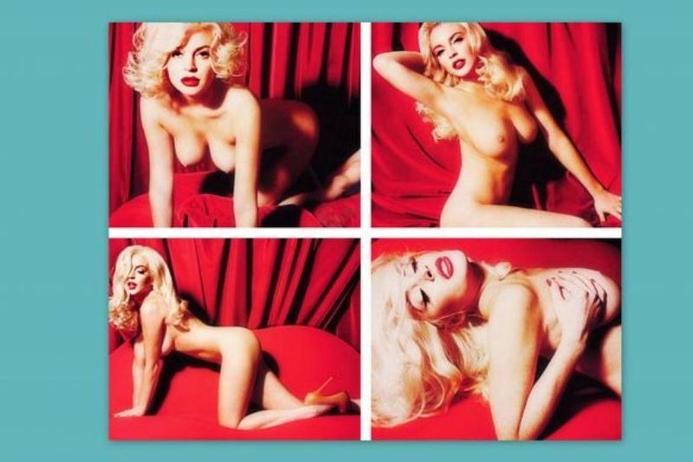Διέρρευσε η φωτογράφηση της Lindsay Lohan στο Playboy
