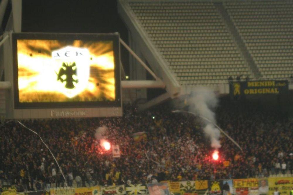 Ανταποκρίθηκαν οι οπαδοί της ΑΕΚ στο κάλεσμα (photos)