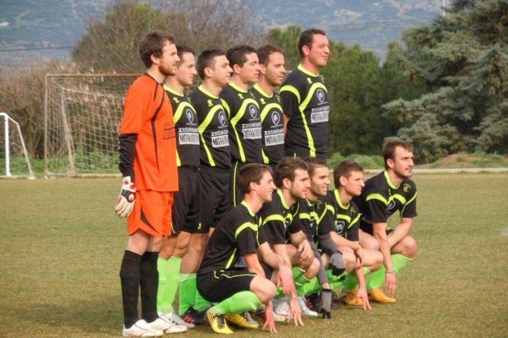 Αμπελωνιακός - Α.Ο. Ταυρωπός 4-1