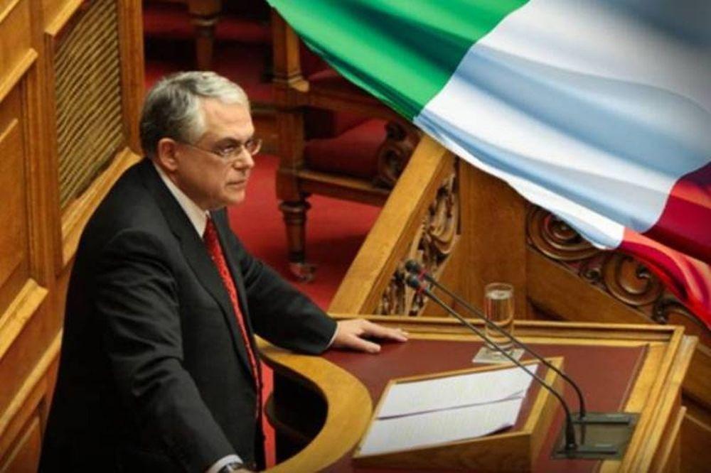 «Ιταλική» κυβέρνηση θέλει ο Παπαδήμος
