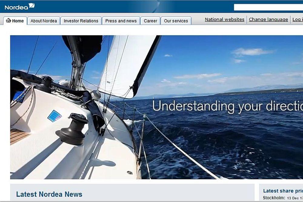 Αυτή είναι η Nordea Bank…