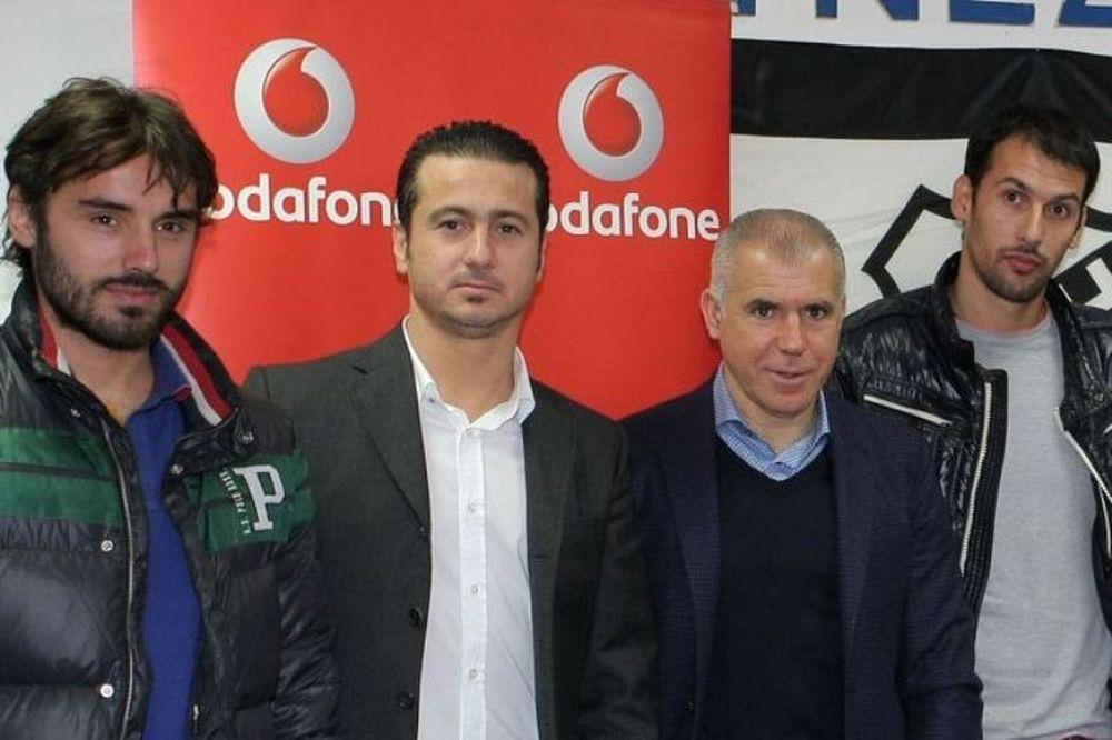 Συνοδοιπόροι ΟΦΗ και «Vodafone»