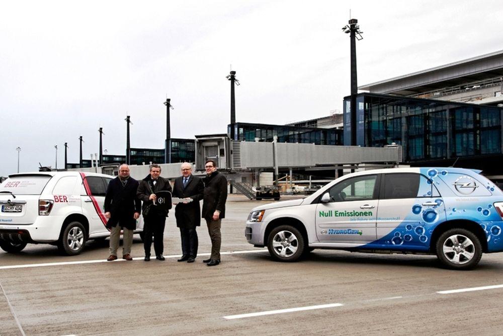 Η Berlin Airports δοκιμάζει το Opel HydroGen4