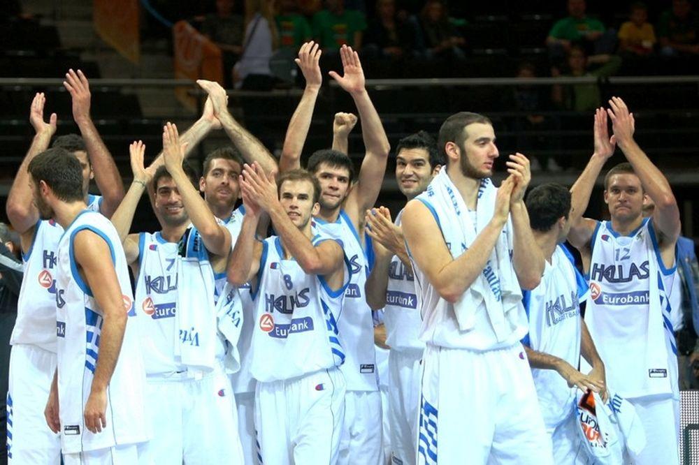 Στην 4η θέση της παγκόσμιας κατάταξης της FIBA η Ελλάδα