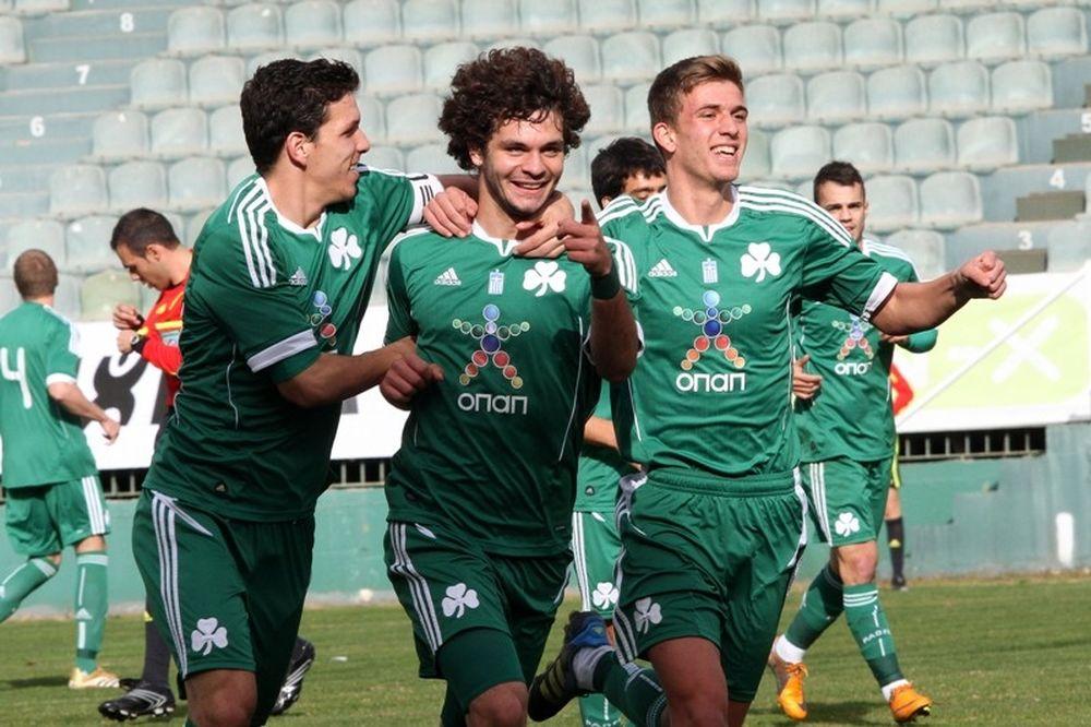 Παναθηναϊκός-Αστέρας Τρίπολης 4-0 (Κ20)