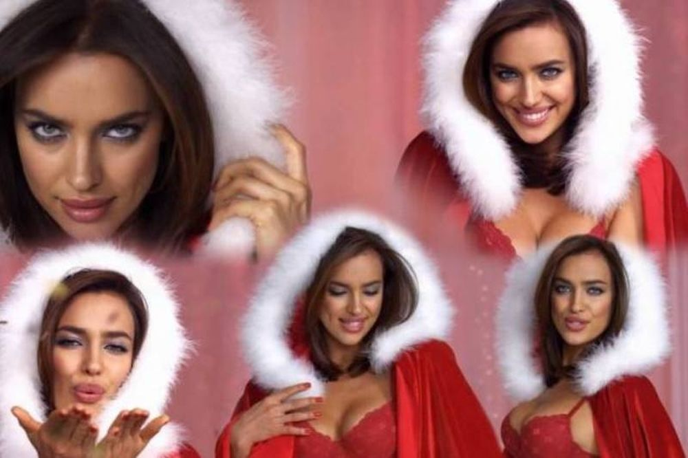 Η Ιρίνα Σάικ… σέξι Άγιος Βασίλης!