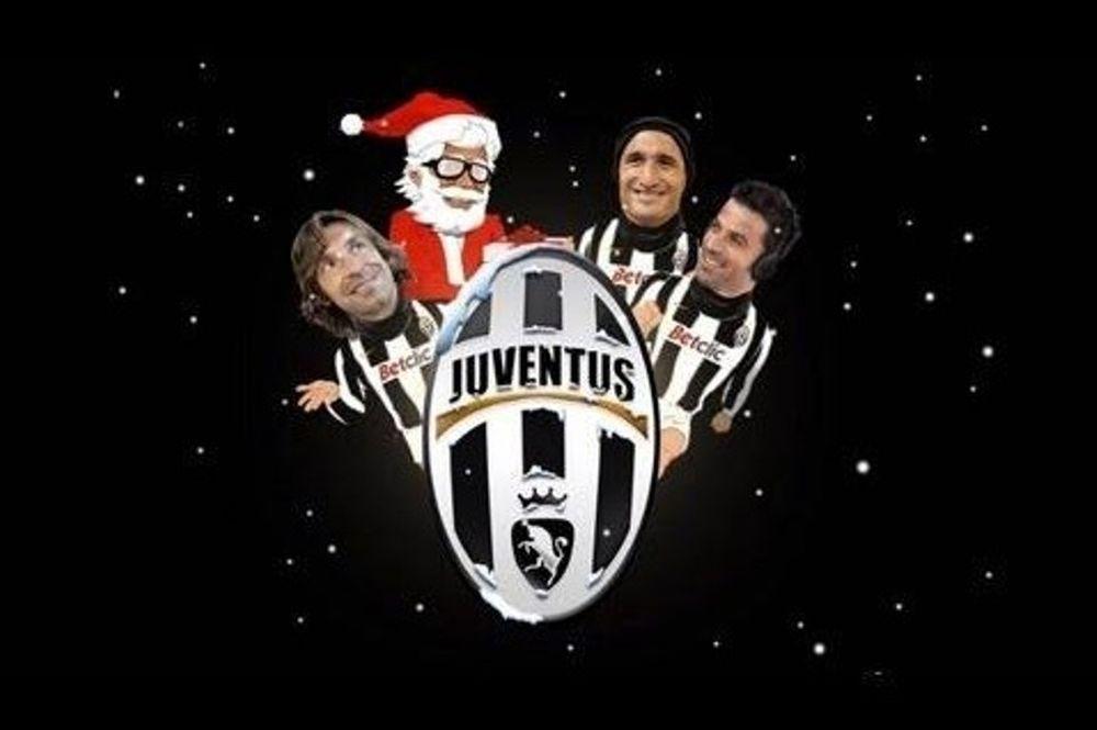 Καλά Χριστούγεννα από τη Γιουβέντους (video)