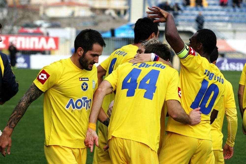 Περίπατος 5-0 του Αστέρα στον Κορυδαλλό