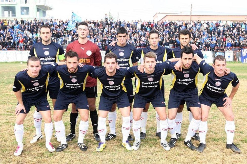 Ν. Καλλικράτεια-Αχιλλέας Τριανδρίας 0-0