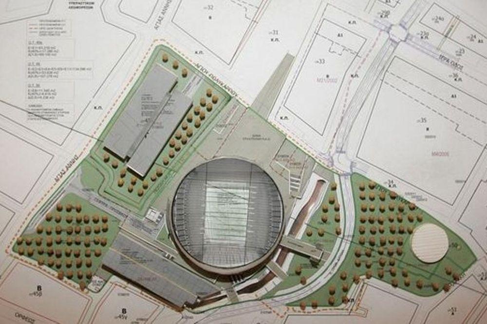 Νέο σχέδιο για το γήπεδο στον Βοτανικό