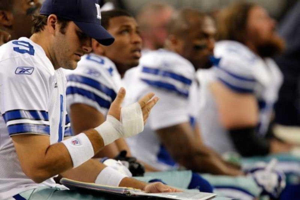 Τραυματισμός Romo και συντριβή των Κάουμποϊς
