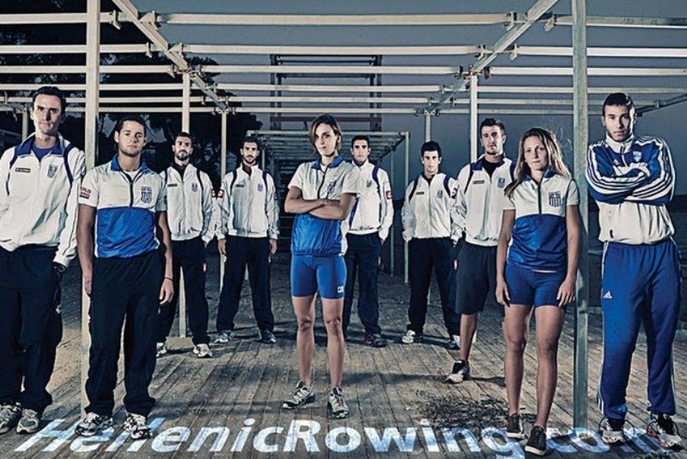 Η ολυμπιακή ομάδα κωπηλασίας φωτογραφήθηκε (photos)
