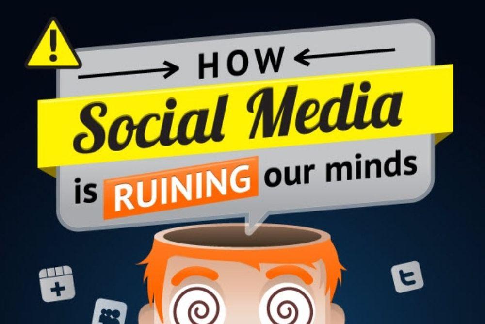 Τα social media «καίνε» το μυαλό μας
