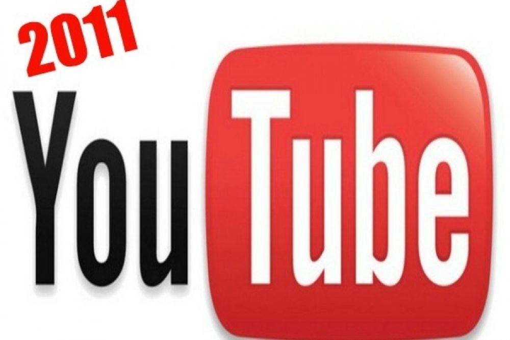 Τα κορυφαία βίντεο του Youtube το 2011