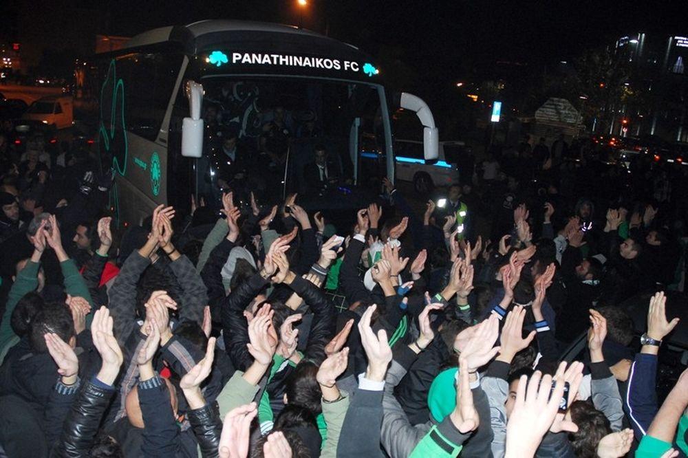 Αποθέωση Παναθηναϊκού στο Αγρίνιο (photos)