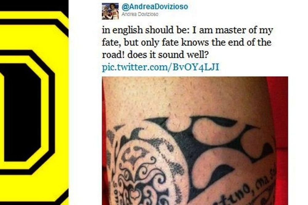 MotoGP:Τατουάζ για τον «Sic» έκανε ο Αντρέα Ντοβισιόζο