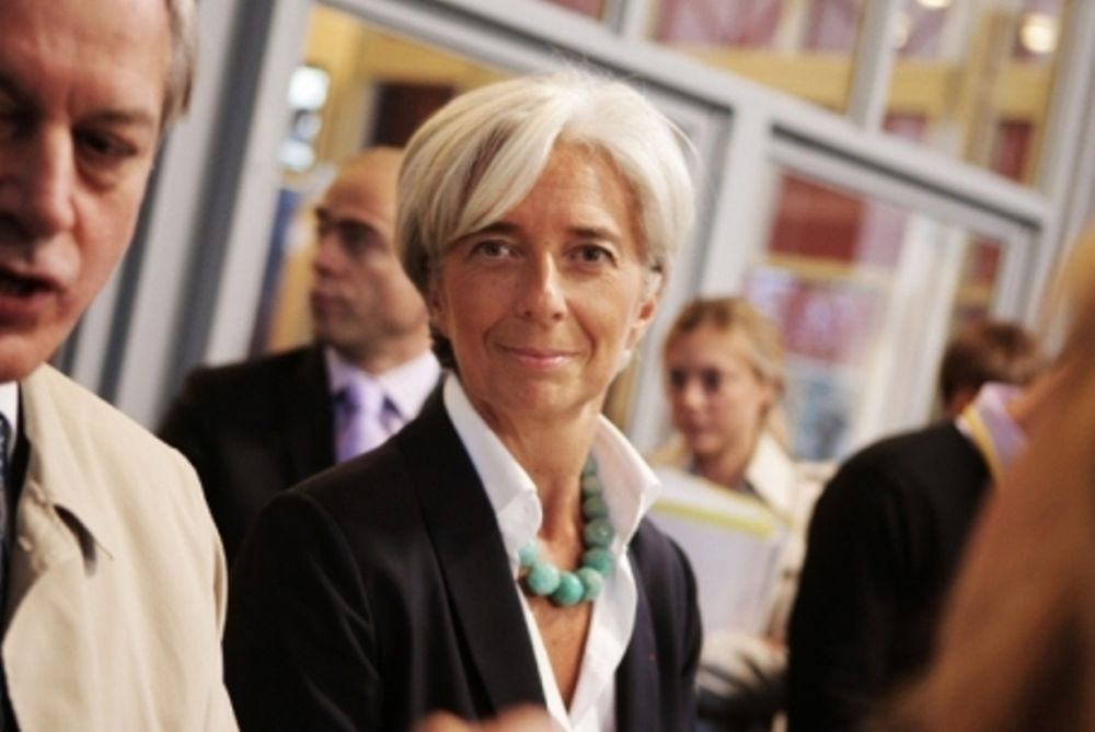 Λαγκάρντ: Δεν φεύγει από την ευρωζώνη η Ελλάδα