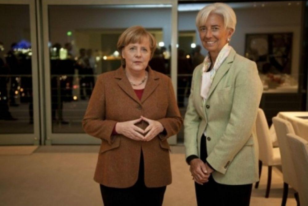 Διάλογος Μέρκελ και Λαγκάρντ για την Ελλάδα
