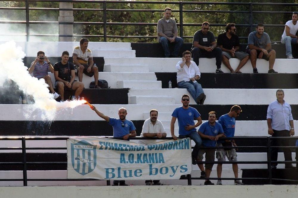 Ανακοίνωση «Blue Boys» κατά Μανιουδάκη