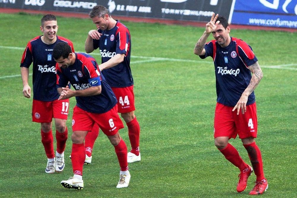 Προκρίθηκε εύκολα η Κέρκυρα, 2-0 την Δόξα