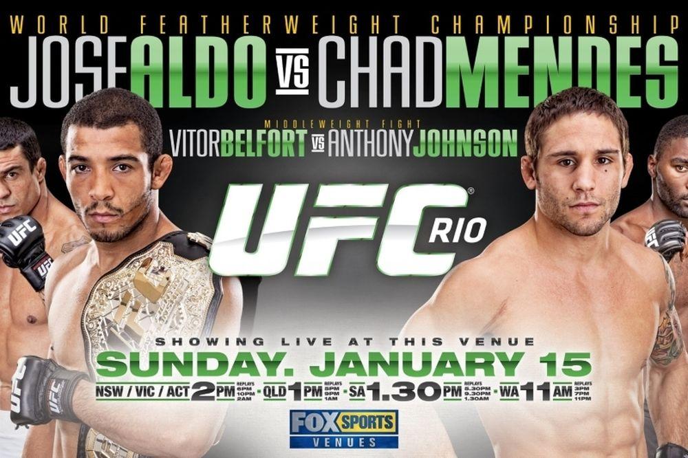 «Πρόγευμα» UFC 142