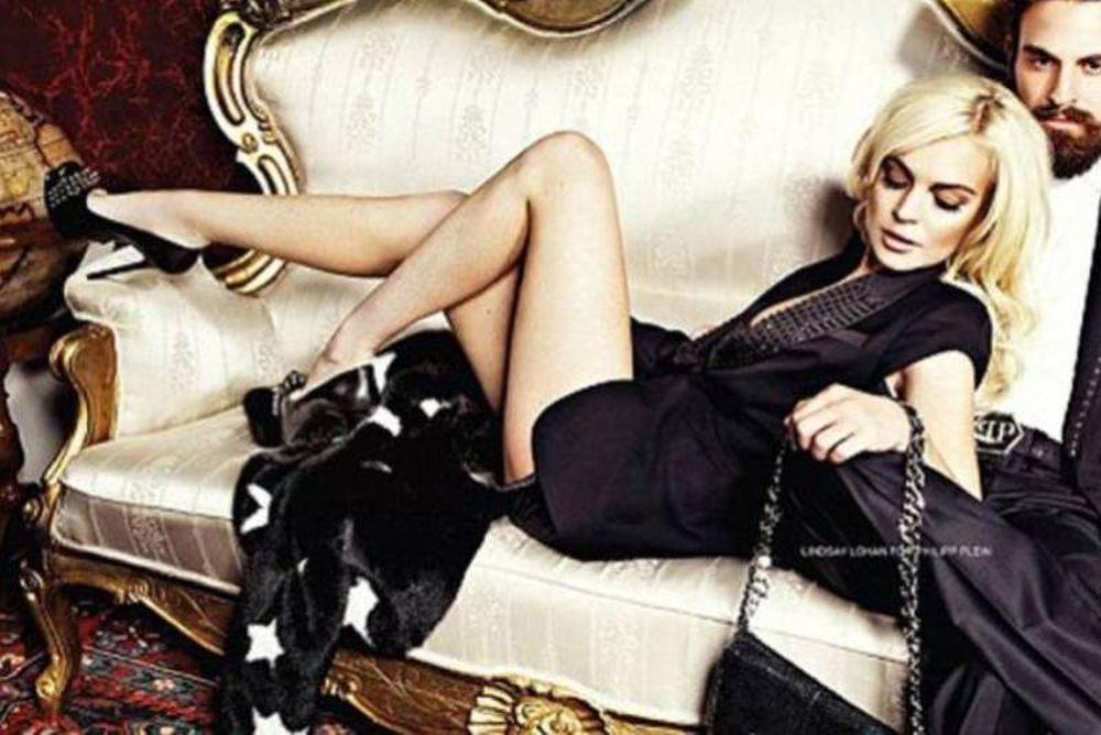 Η… ντυμένη  Lindsay Lohan!