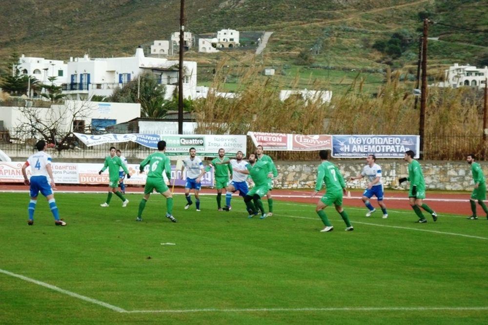 Ρόδος-Πανναξιακός 0-0