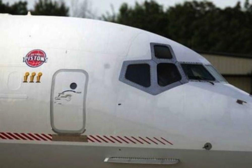 Περιπέτεια με το αεροπλάνο των Πίστονς