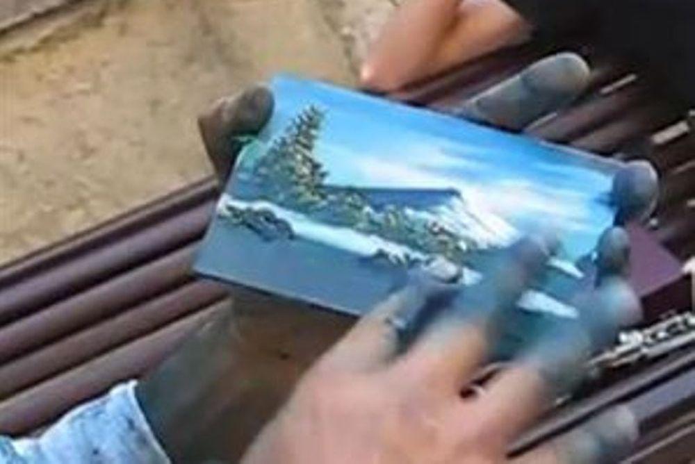 Ο... ταχύτερος ζωγράφος
