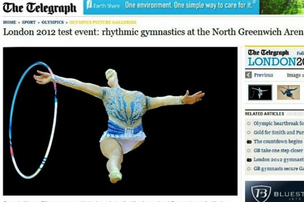 Η Βαρβάρα Φίλιου στην Telegraph (photos)