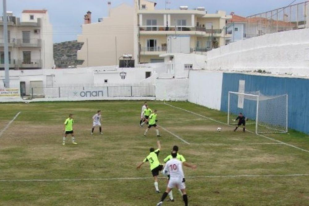 Δόξα Κορωπίου – Γέρακας 3-0