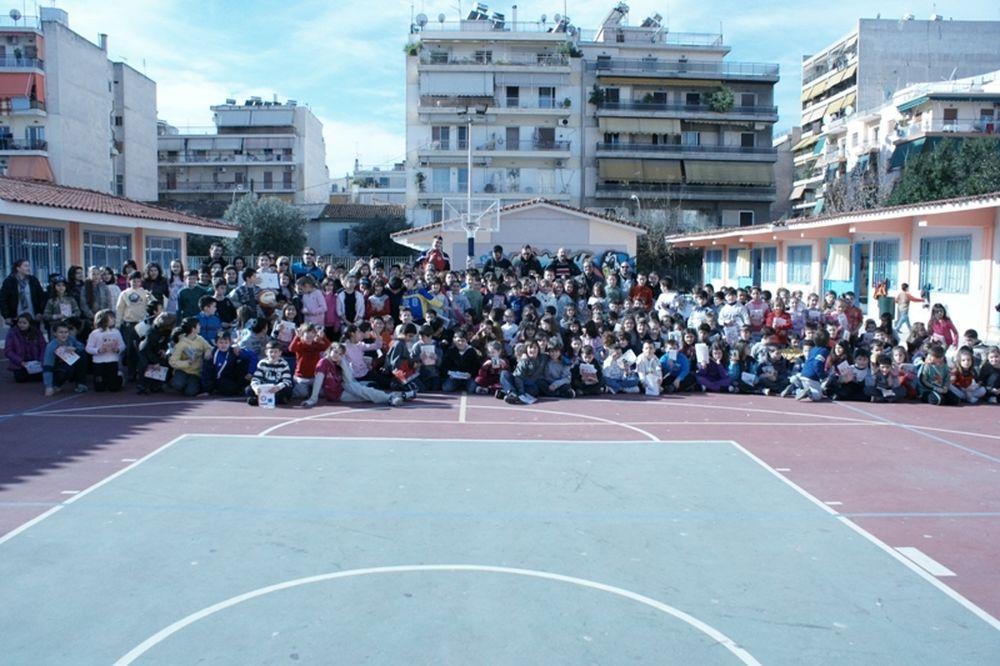 Επίσκεψη Ικάρου σε Δημοτικό σχολείο