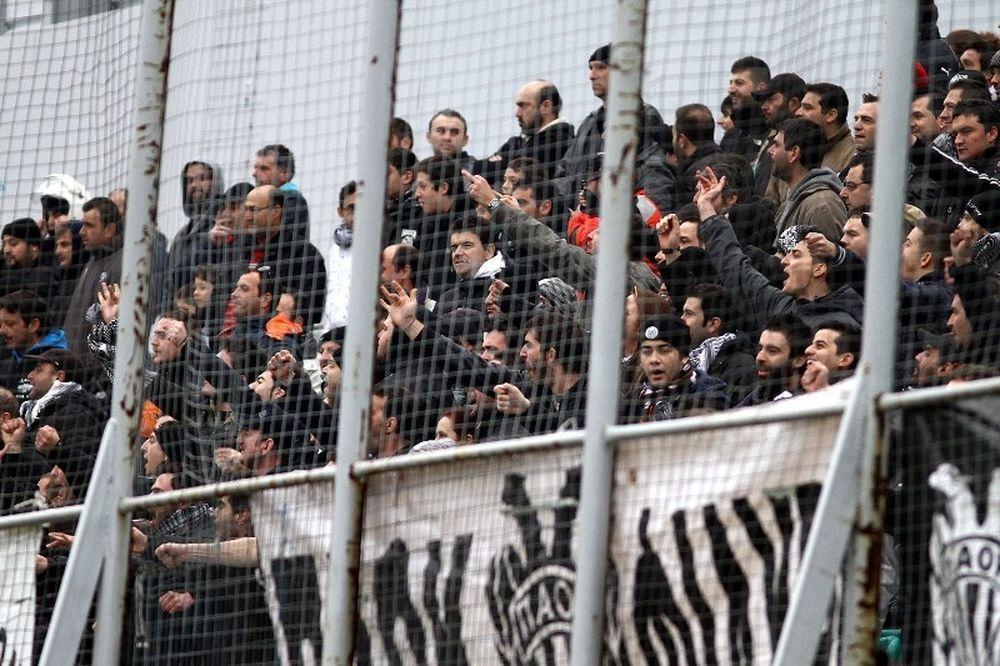 Ντου από τους οπαδούς του ΠΑΟΚ και συνθήματα κατά Ζαγοράκη
