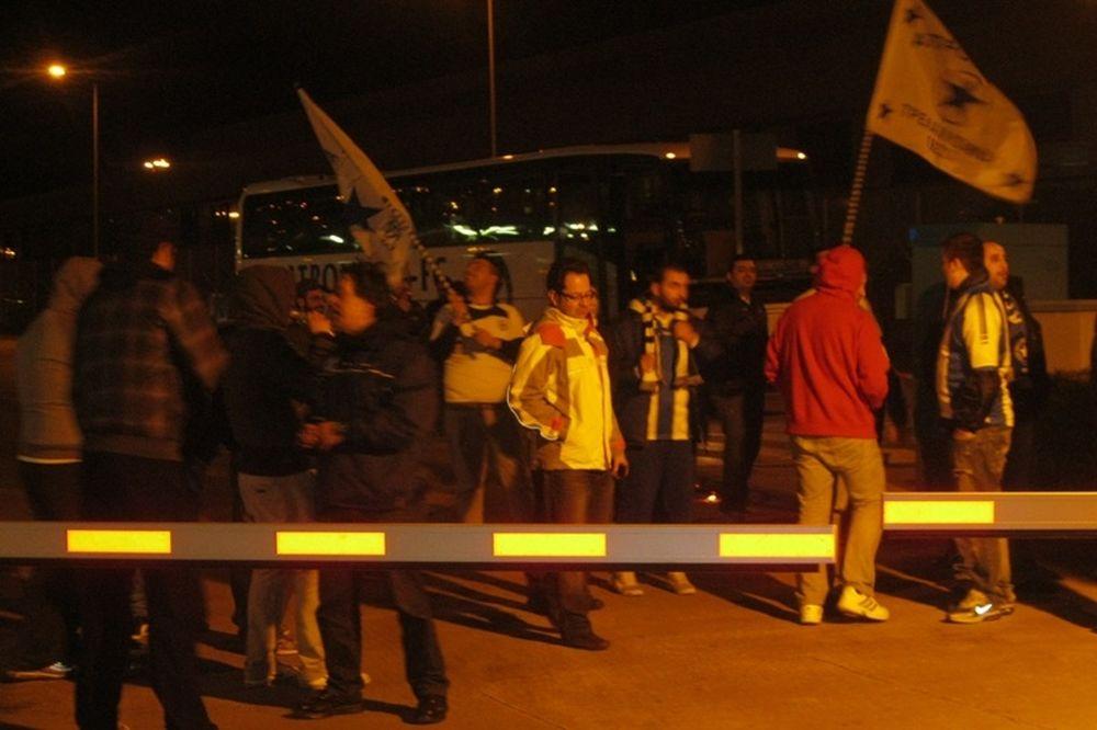Αποθέωση στο «Ελ. Βενιζέλος» για τον Ατρόμητο! (photos&video)