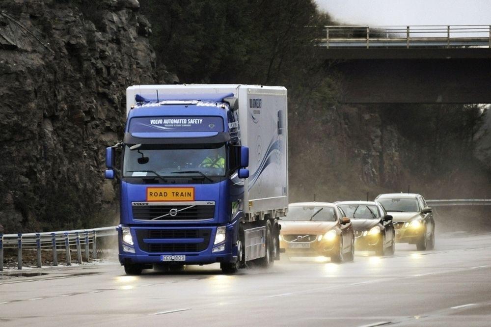 Η Volvo συμμετέχει στο πρόγραμμα SARTRE