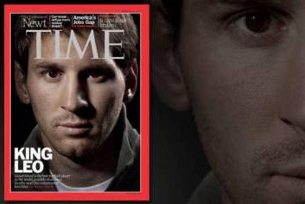 Στο εξώφυλλο του «Time» ο Μέσι!