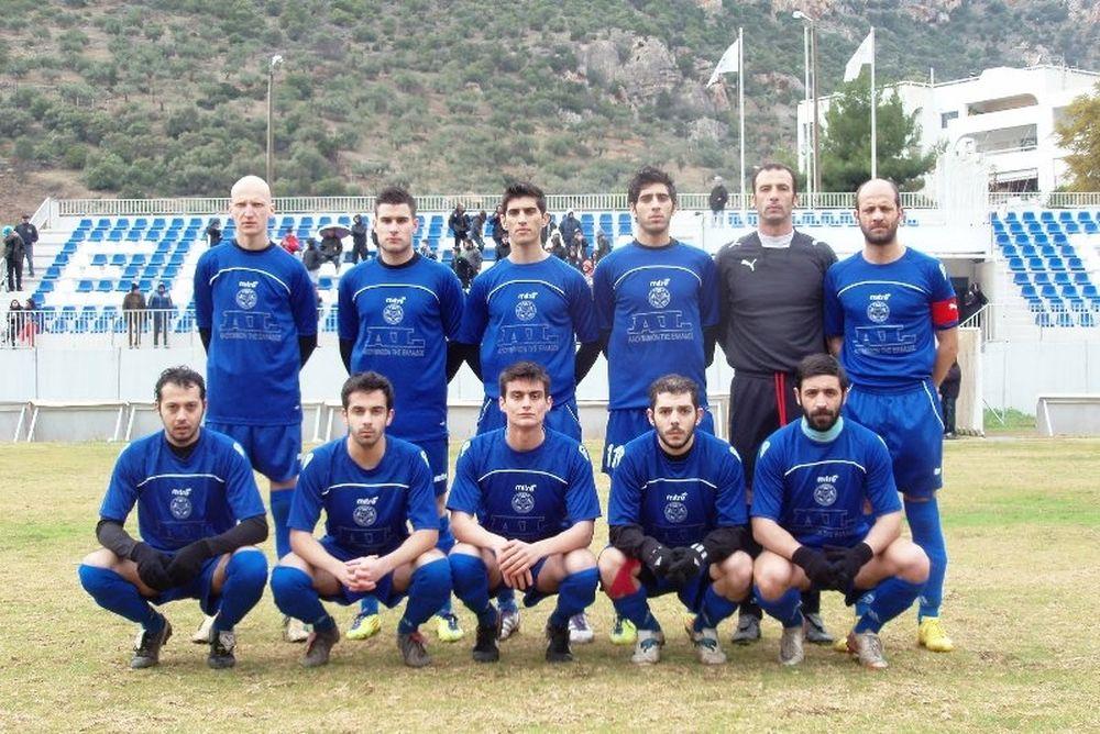 Ένωση Άσπρα Σπίτια-Παναργειακός 2-0