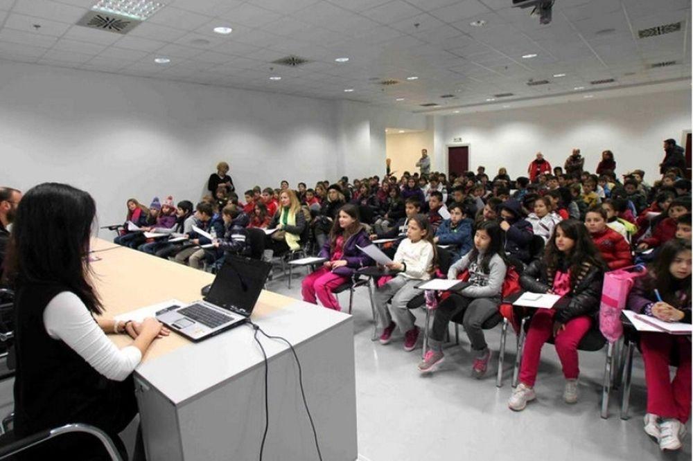 Επίσκεψη μαθητών στο AEL FC ARENA