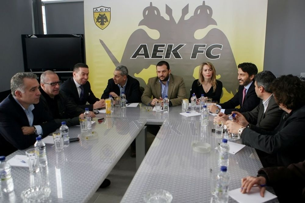 Νέος πρόεδρος της ΑΕΚ ο Δημητρέλος (photos)
