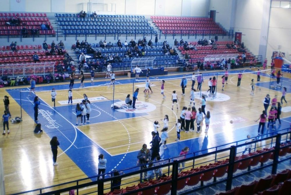 To 1o τουρνουά μίνι βόλεϊ Ανατολικής Μακεδονίας