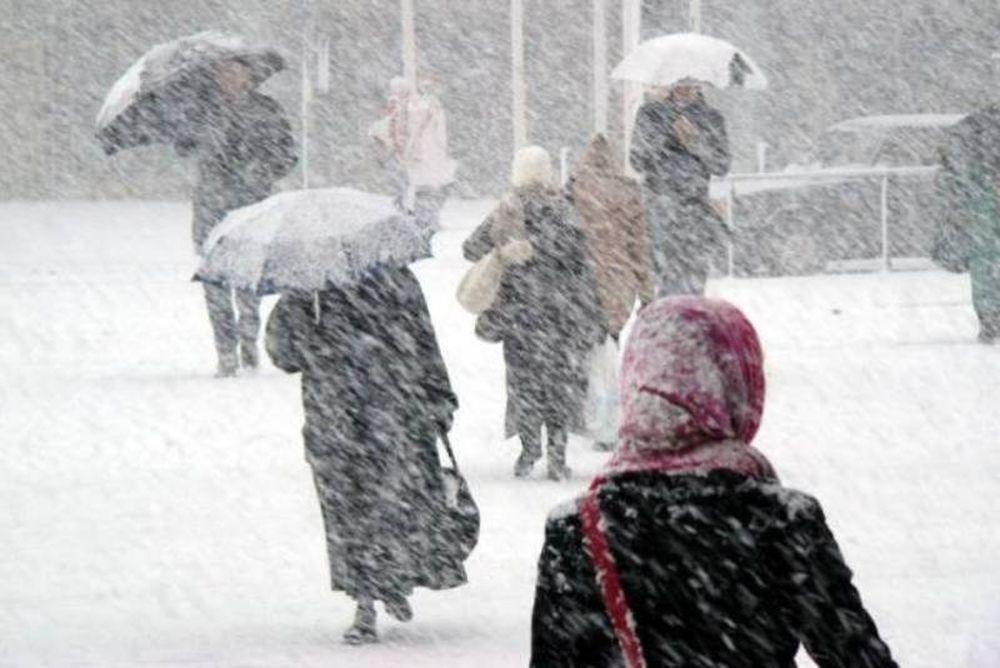 Ακραία καιρικά φαινόμενα και χιονοπτώσεις